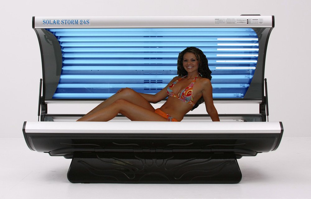 tanning bed